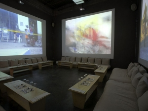 4 channel video installation with HELLO LOVERS ORCHESTRA